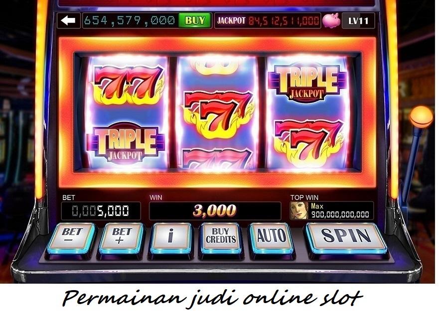 Permainan taruhan online slot